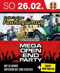 Mega Open End Party